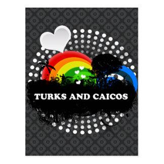 Cute Fruity Turks And Caicos Postcard