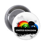 Cute Fruity United Kingdom Badge