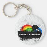 Cute Fruity United Kingdom Key Chains