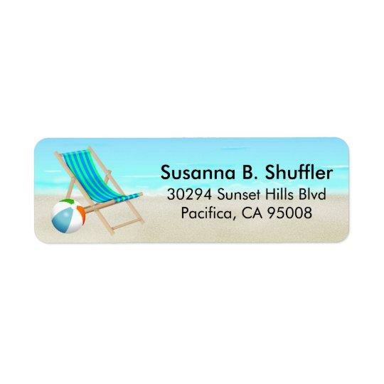 Cute Fun Beach Chair Ball