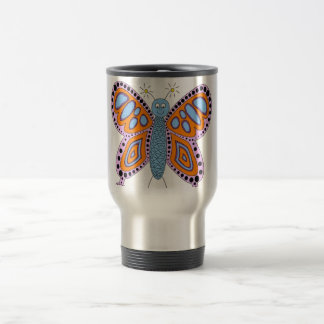 Cute Fun Butterfly Travel Mug