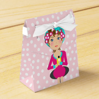 Cute Fun Girly Pamper Spa Party Theme For Girls Favour Box