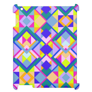 Cute Funky Geometric Patterns Case For The iPad