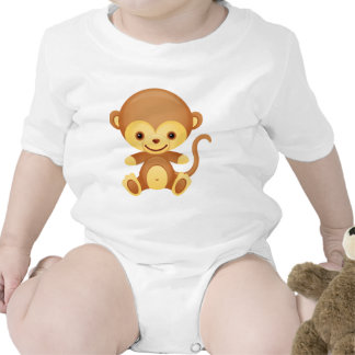 Cute Funky Monkey Toddle T-shirt