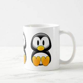 Cute Funny Baby Penguin Coffee Mug