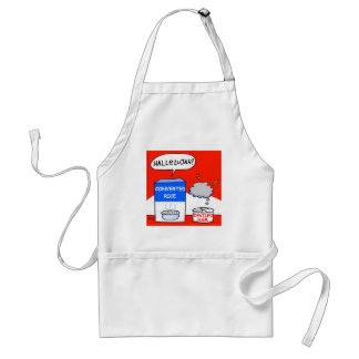 Cute Funny Christian Hallelujah Cartoon Apron