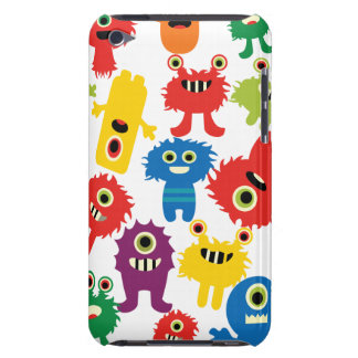 Cute Funny Colorful Monsters Pattern iPod Touch Case-Mate Case