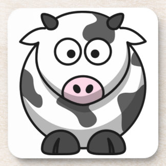 Cute Funny Cow Coasters