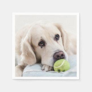 Cute & Funny Dog paper napkins Disposable Serviette