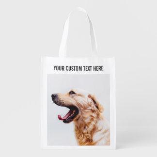 Cute & Funny Dogs custom reusable bag