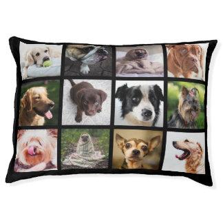 Cute & Funny Dogs Photo Collage dog beds