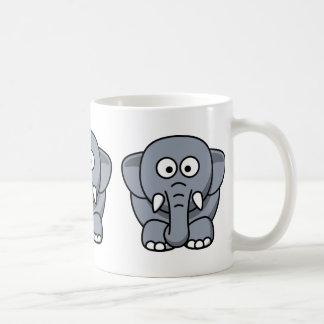 Cute Funny Elephant Coffee Mug