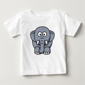 Cute Funny Elephant - Gray T-Shirt