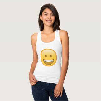 Cute, funny emoji Tank Top