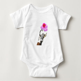 Cute funny farm animal goose for baby/kids baby bodysuit