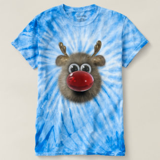 Cute Funny Fluffy Reindeer T-Shirt