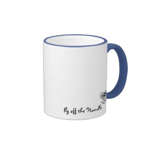 Cute Funny Fly off the Handle Mug