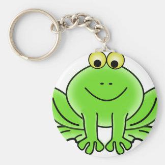 Cute Funny Frog Key Ring