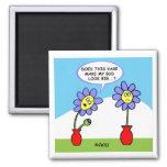 Cute Funny Gardener Dieter Kitchen Fridge Magnet
