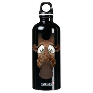 Cute Funny Giraffe Face SIGG Traveller 0.6L Water Bottle