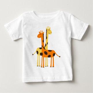 Cute Funny Giraffe Pair Baby T-Shirt