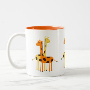 Giraffe Coffee & Travel Mugs | Zazzle UK