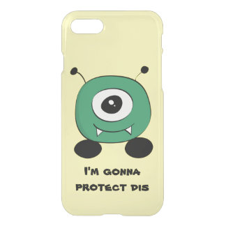 Cute Funny Green Alien iPhone 8/7 Case