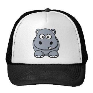 Cute Funny Hippo Cap