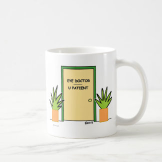 Cute Funny Optical Office Novelty Coffee Mug