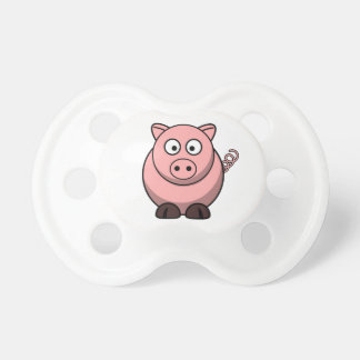 Cute Funny Pig Baby Pacifier