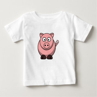 Cute Funny Pig Baby T-Shirt