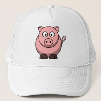 Cute Funny Pig Cap