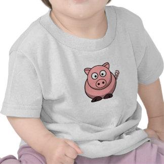 Cute Funny Pig T Shirts