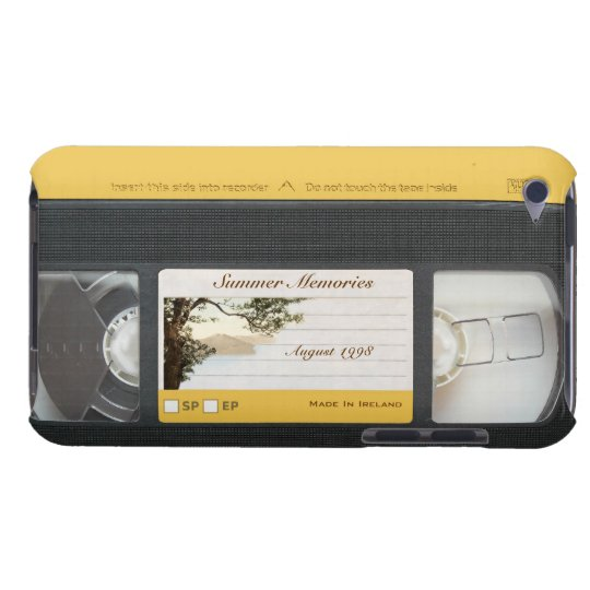 Cute Funny Retro Video Cassette iPod Touch 4G