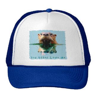 Cute, Funny SEA OTTER Hat