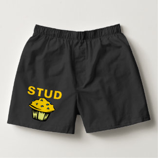 Cute Funny Stud Muffin Boxers