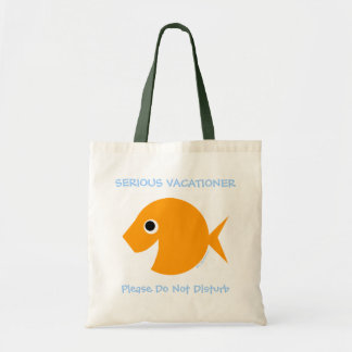 Cute Funny Teacher Vacation Cartoon Beach Tote
