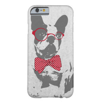 Cute funny trendy vintage animal French bulldog Barely There iPhone 6 Case