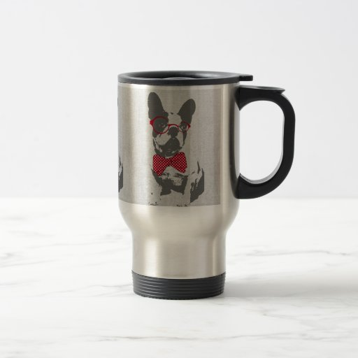 Cute funny trendy vintage animal French bulldog Mug
