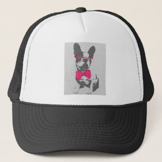 Cute funny trendy vintage animal French bulldog Trucker Hat
