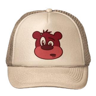 Cute Funny Winking Bear Cap