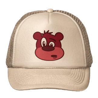 Cute Funny Winking Bear Hat