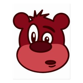 Cute Funny Winking Bear Postcard