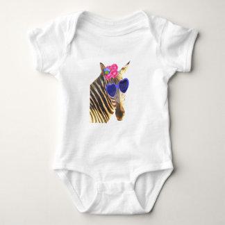Cute funny zebra animal for baby/kids baby bodysuit