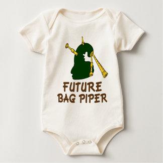 Cute Future Bagpiper Baby Tee Gift