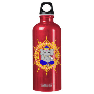 cute ganesha water bottle