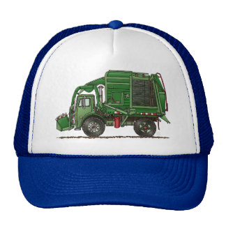 Cute Garbage Truck Trash Truck Cap