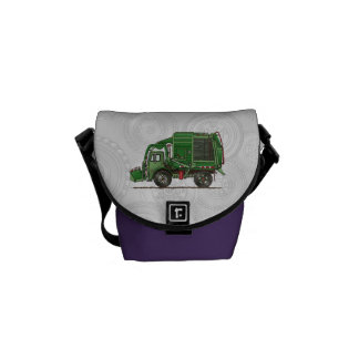 Cute Garbage Truck Trash Truck Courier Bag