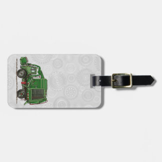 Cute Garbage Truck Trash Truck Luggage Tag
