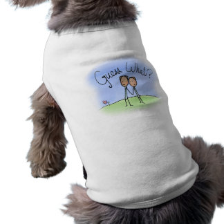 Cute Gay Couple Guess What Sleeveless Dog Shirt